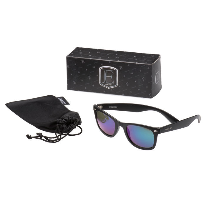Neon sunglasses box
