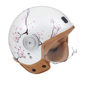 Exklusiv motorcycle helmet cherry design