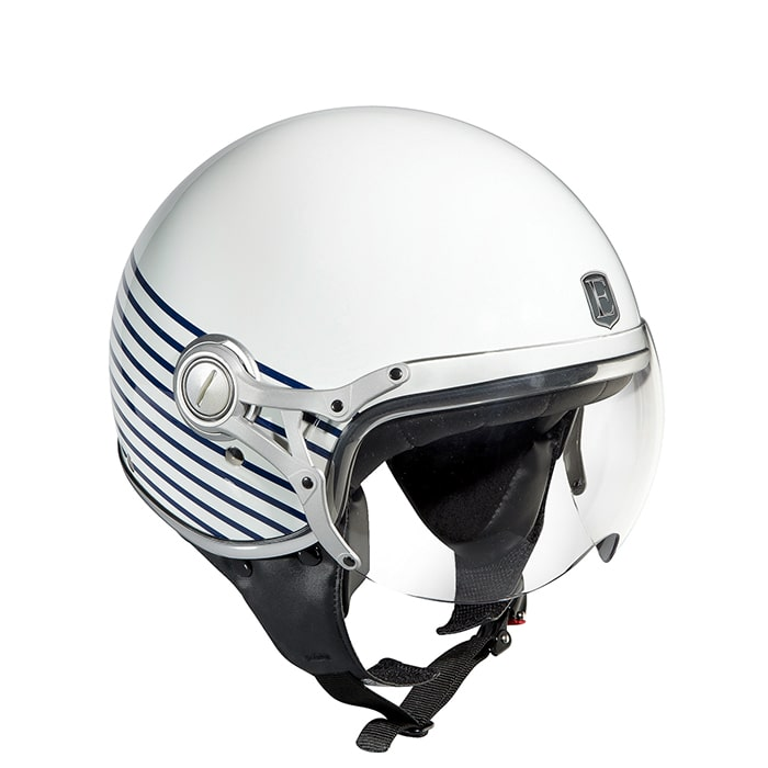 Casque EXKLUSIV FREEWAY MARINA BLUE EXKLUSIV helmet fashion style